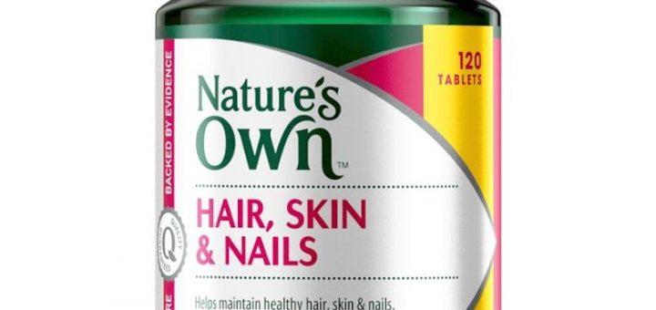 Thuốc uống Nature's Own duy trì mái tóc khỏe mạnh và làn da đẹp